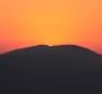 Safed INN - SUNSET OVER MT. MEIRON (Large)